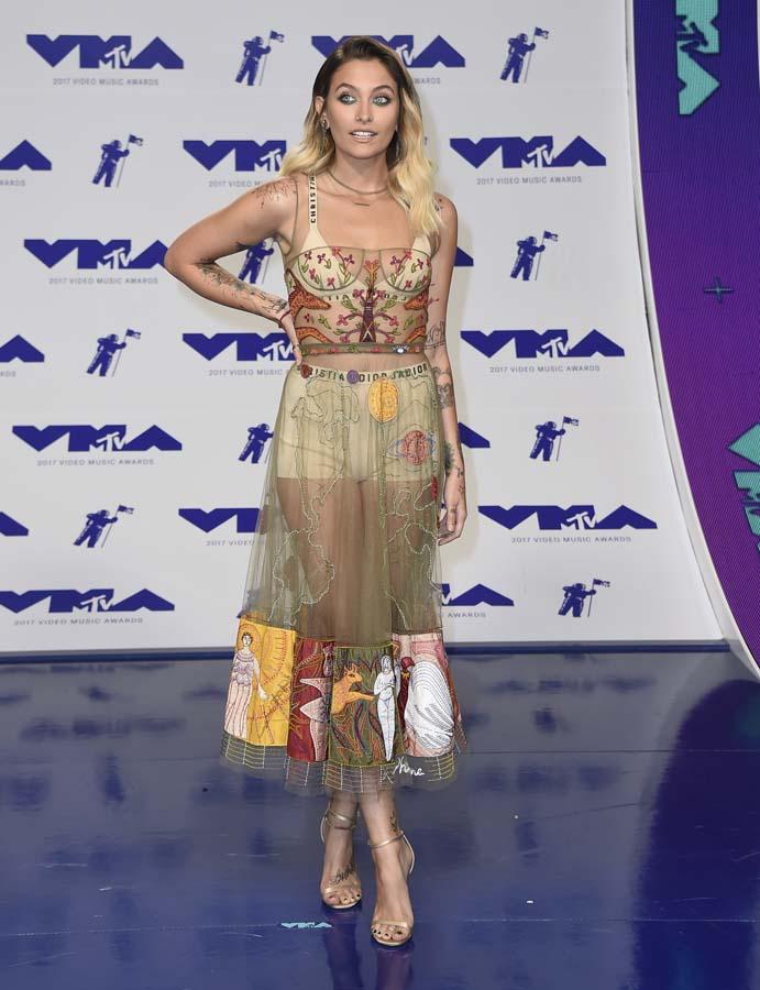 Las mejores vestidas de los MTV VMA 2017 - Paris Jackson