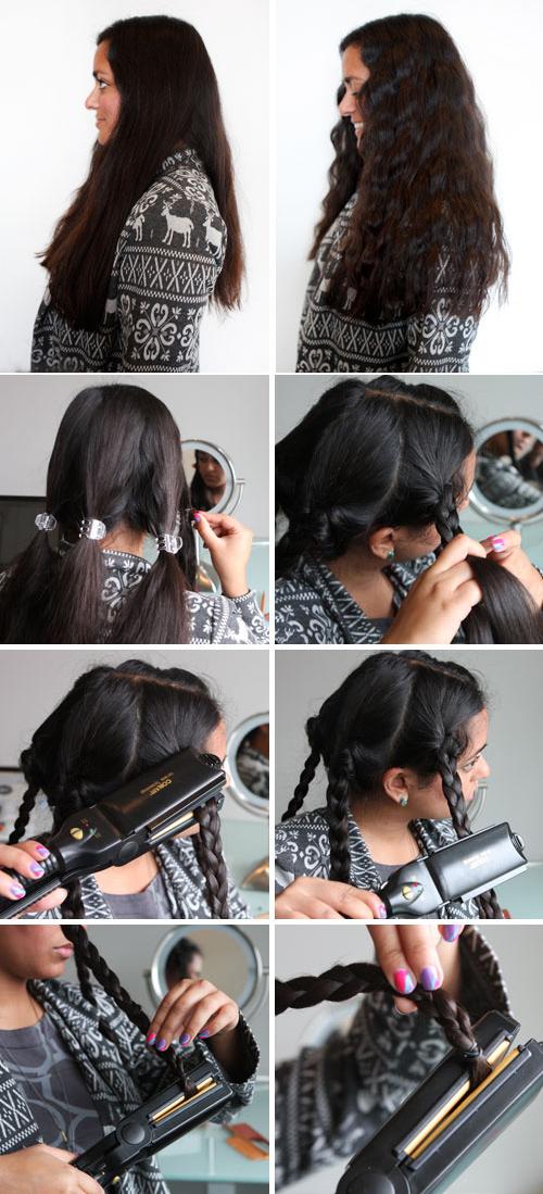 truco para ondular el cabello