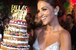 Los Looks de Paula Echevarría en su fiesta de cumpleaños - look de Paula Echevarría