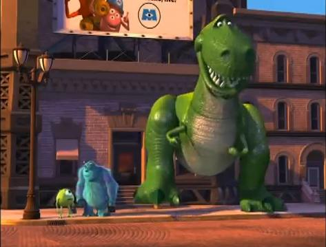 toy story en monsters inc