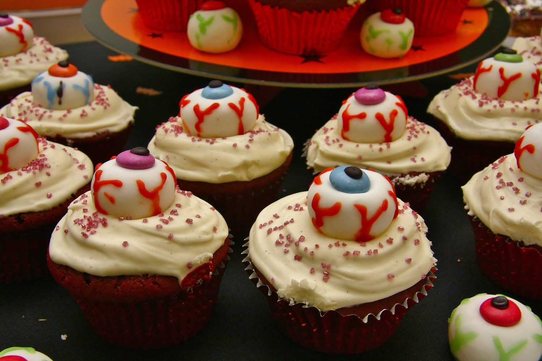Postres de Halloween muy fáciles de hacer - cupcakes de halloween