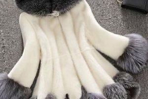 Capas y abrigos para mujer talla grande - capa blanca y gris