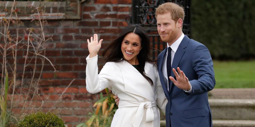 Te hablamos del look de compromiso de Meghan Markle - príncipe harry y meghan markle