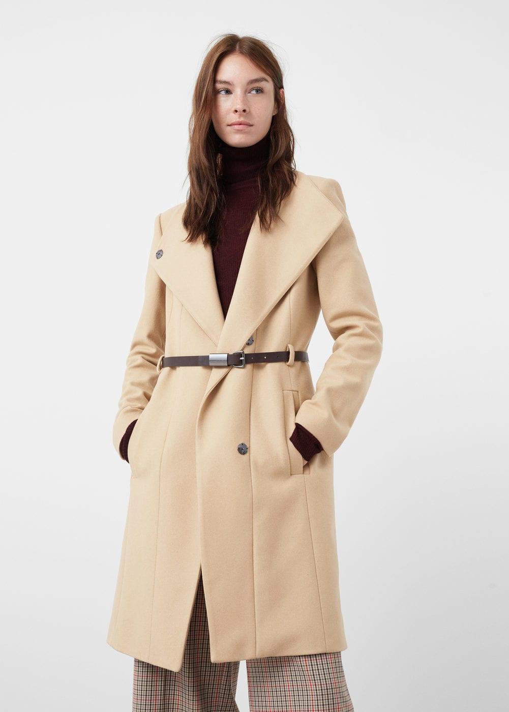 10 prendas del BLACK FRIDAY 2017 que amarás comprar - abrigo lana