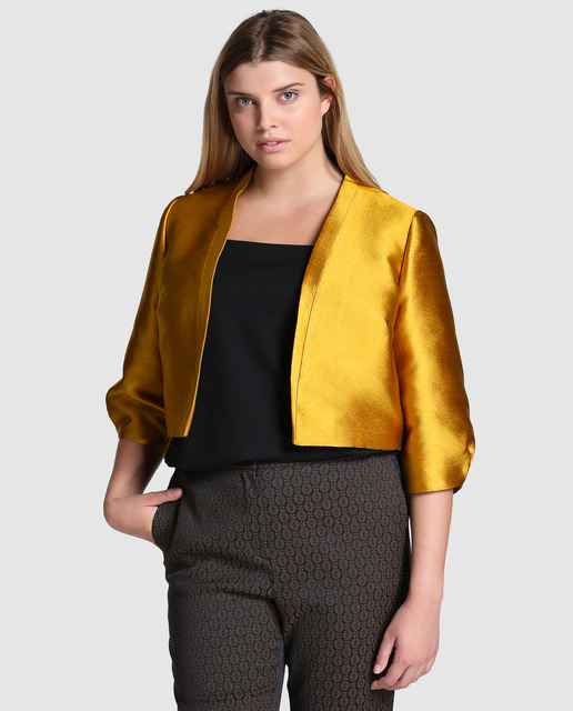 4 Looks Fin de Año 2017 Tallas Grandes - chaqueta tallas grandes xxl
