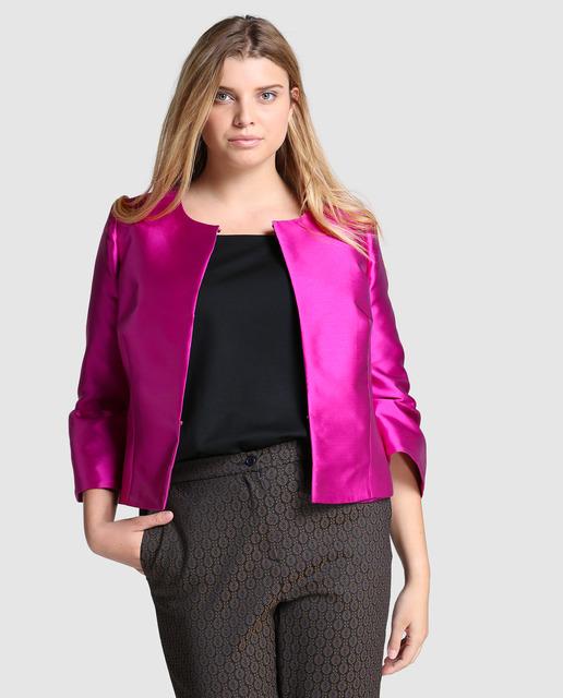 4 Looks Fin de Año 2017 Tallas Grandes - chaqueta fiesta xxl