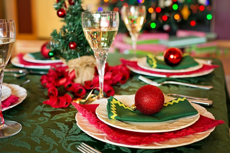 Platos de Navidad bajos en calorías