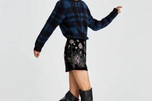 10 prendas del BLACK FRIDAY 2017 que amarás comprar - minifalda bordada