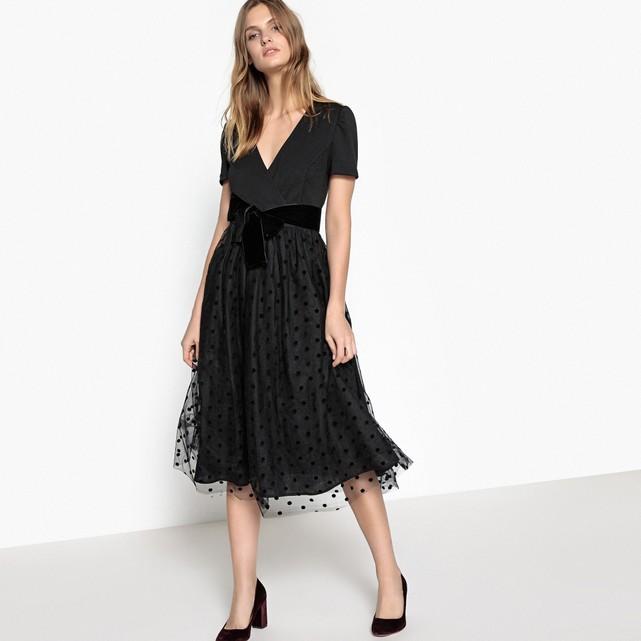8 vestidos para Navidad 2017 que sí tienes que fichar - vestido fiesta negro