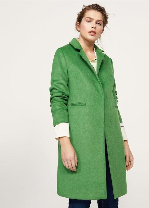 Abrigos tallas grandes Violeta - abrigo verde tallas grandes