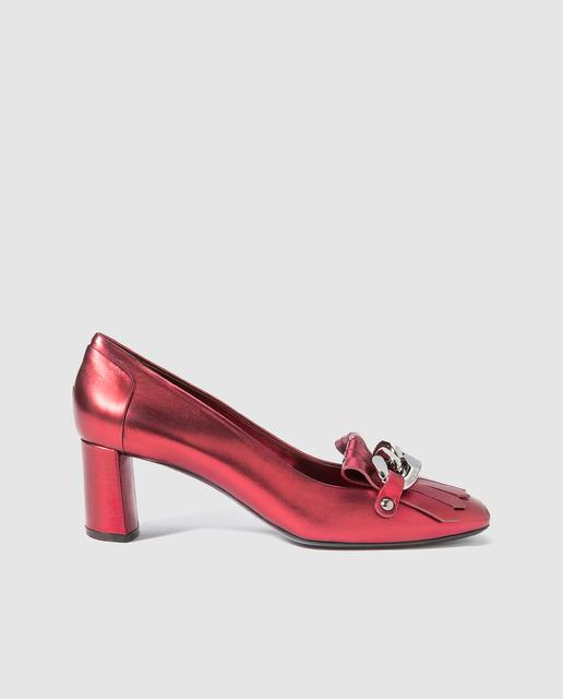Salones y zapatos para Fin de Año 2017 - mocasines rosas casadei