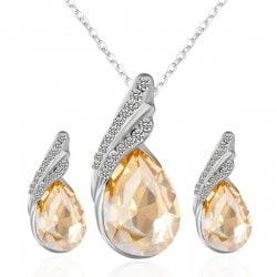 Set de joyas especiales para Año Nuevo ¡InspírateSet de joyas especiales para Año Nuevo ¡Inspírate!- set joya lágrima