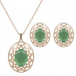 Set de joyas especiales para Año Nuevo ¡Inspírate! - set joya imitación piedras preciosas