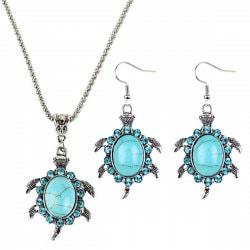 Set de joyas especiales para Año Nuevo ¡Inspírate! - set joya imitación zafiro