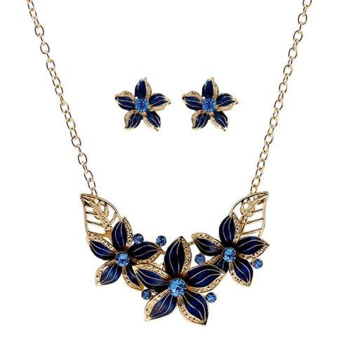 Set de joyas especiales para Año Nuevo ¡Inspírate! - set joyas flores