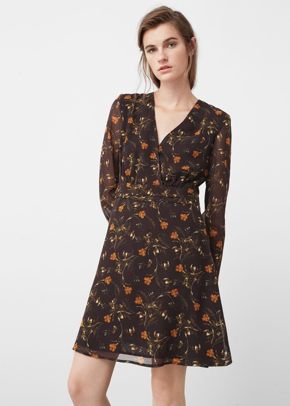 Vestidos bohemios de flores que sí deberás comprar en las rebajas - vestido bohemio flores