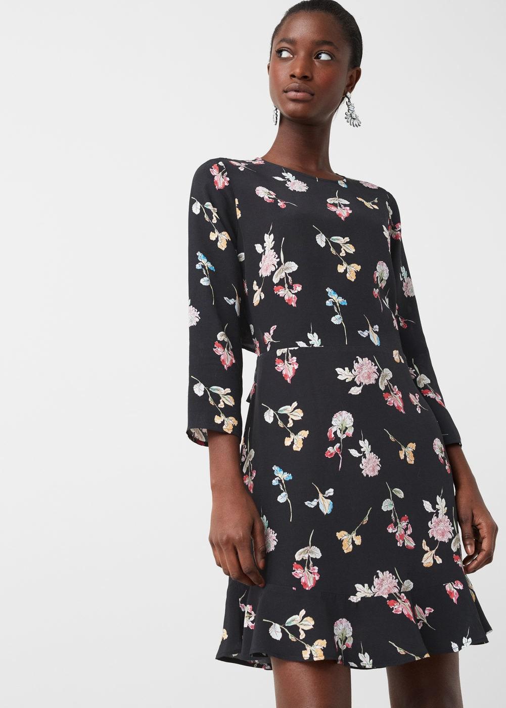 Vestidos bohemios de flores que sí deberás comprar en las rebajas - vestido flores