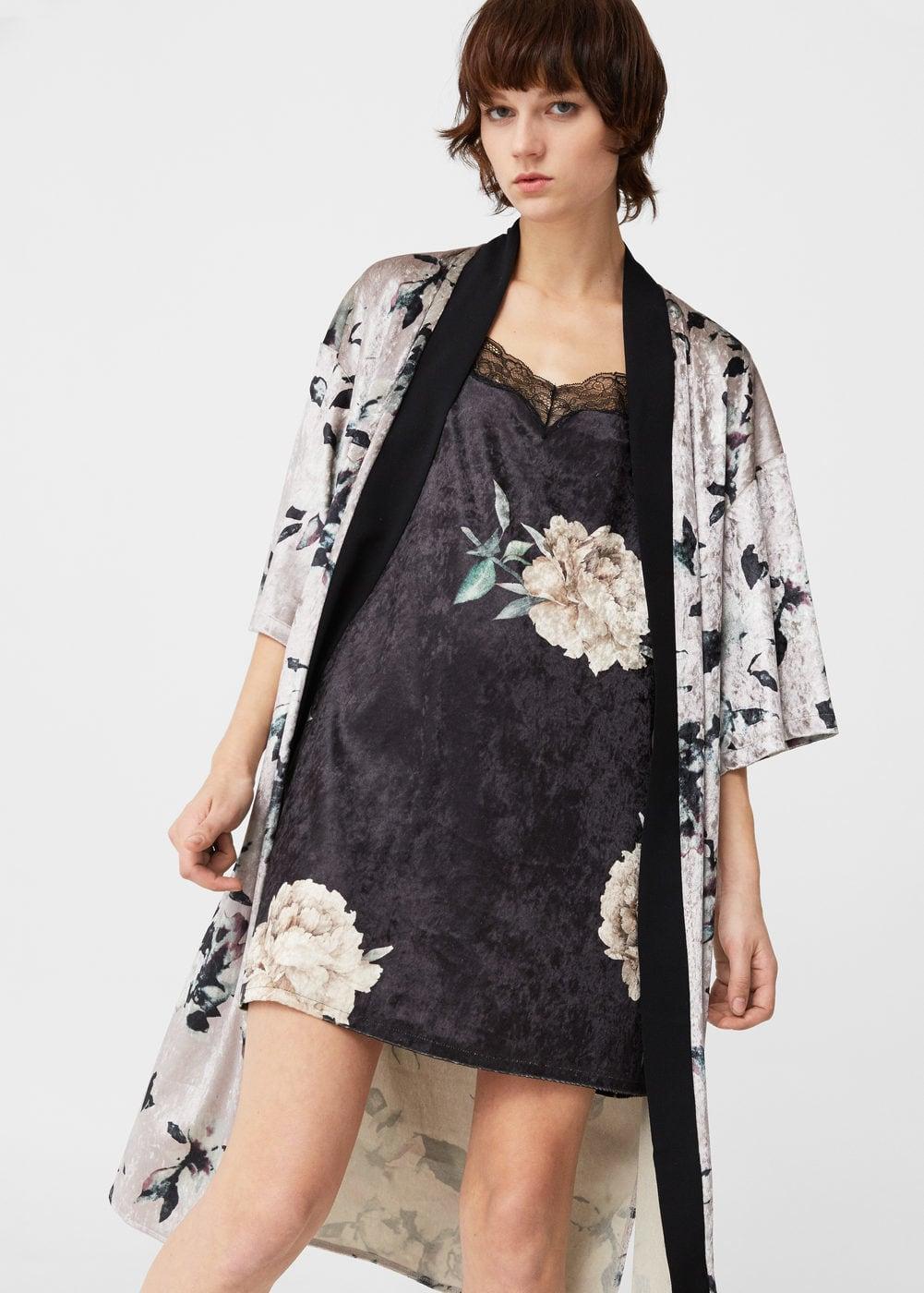 Vestidos Lenceros que podrás encontrar en Rebajas - vestido lencero terciopelo