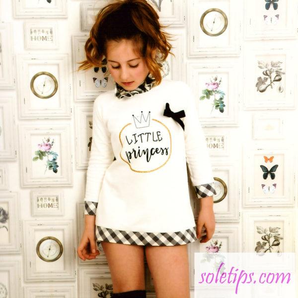 Moda infantil - vestido - sudaderas para niñas