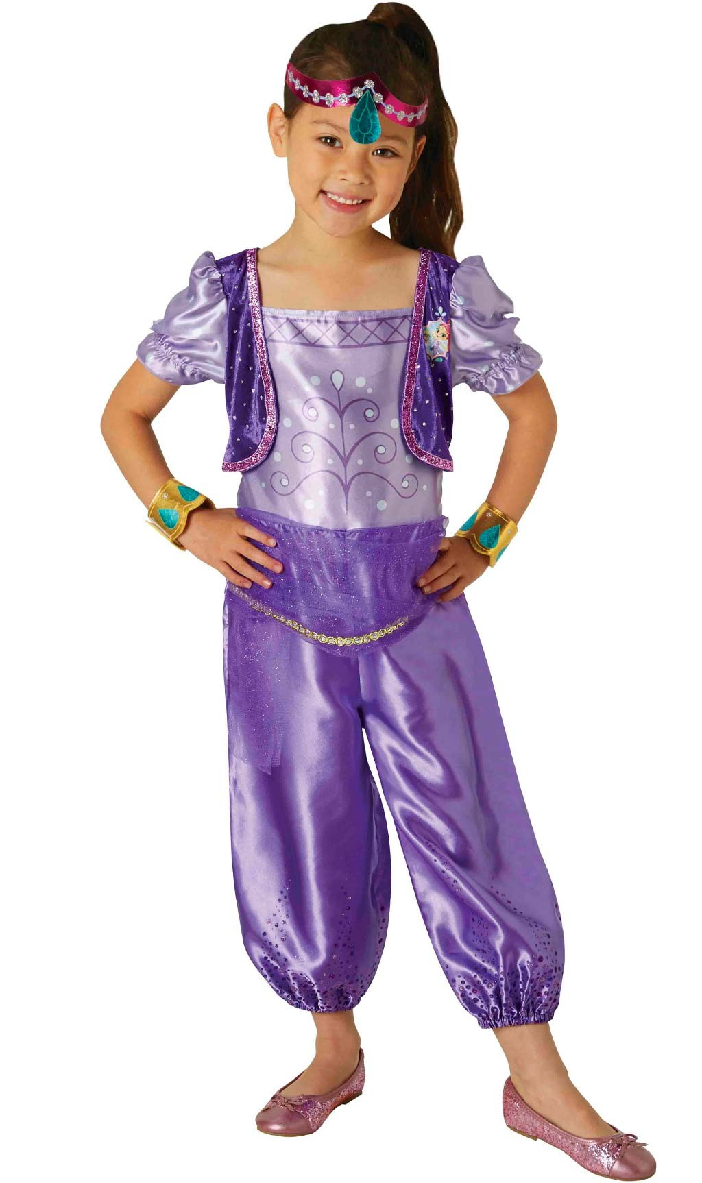 Disfraces de Carnaval para niñas - disfraz árabe