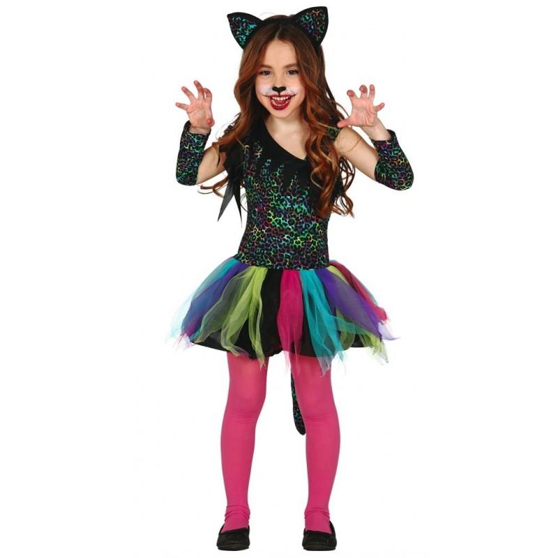 Disfraces de Carnaval para niñas - disfraz leopardo
