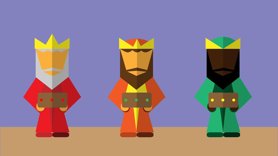Celebra los Reyes con tus hijos: recortables y vídeos de los Reyes Magos gratis