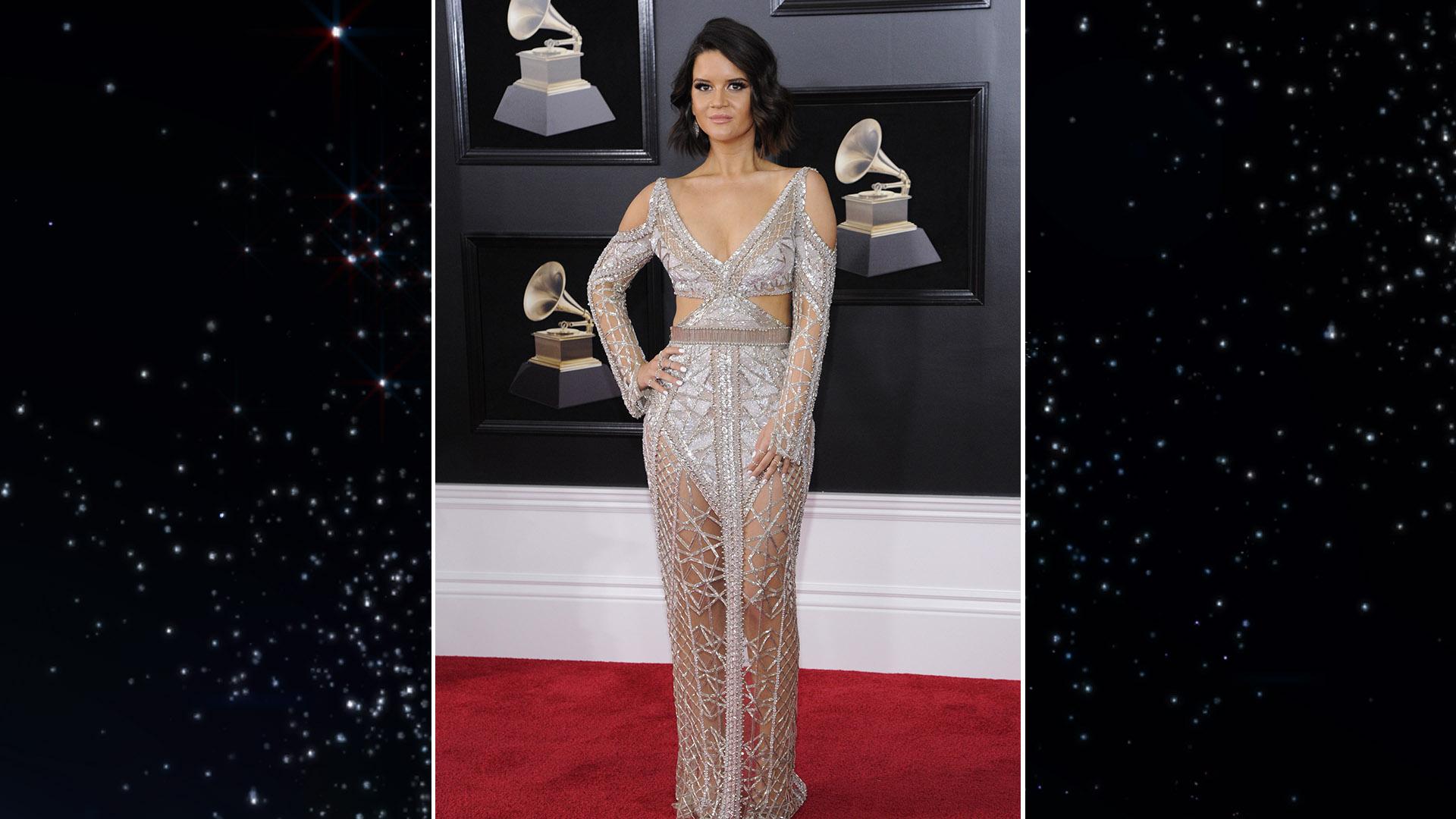 Los mejores looks de los Grammy- maren morris