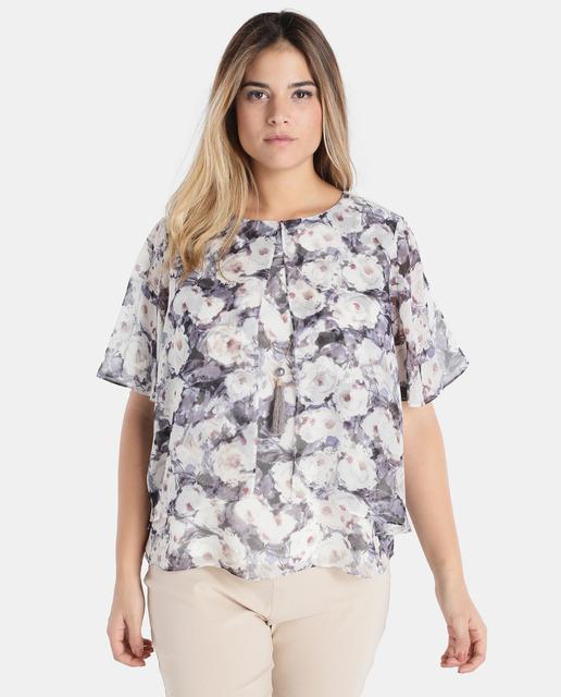 Antea Plus Moda Tallas Grandes Primavera 2018 - blusa talla grande antea plus