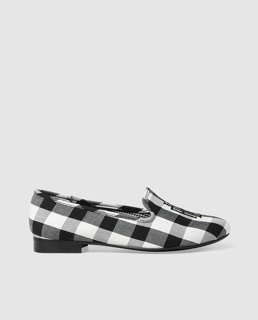 Bailarinas y slippers primavera 2018 - slippers de cuadros