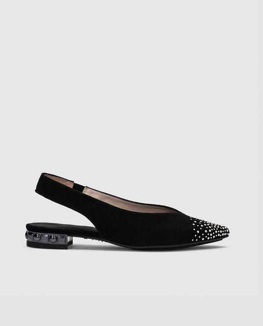 Bailarinas y slippers primavera 2018 - bailarinas abiertas negras