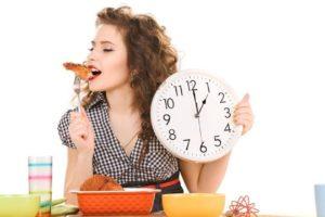 comer con horario