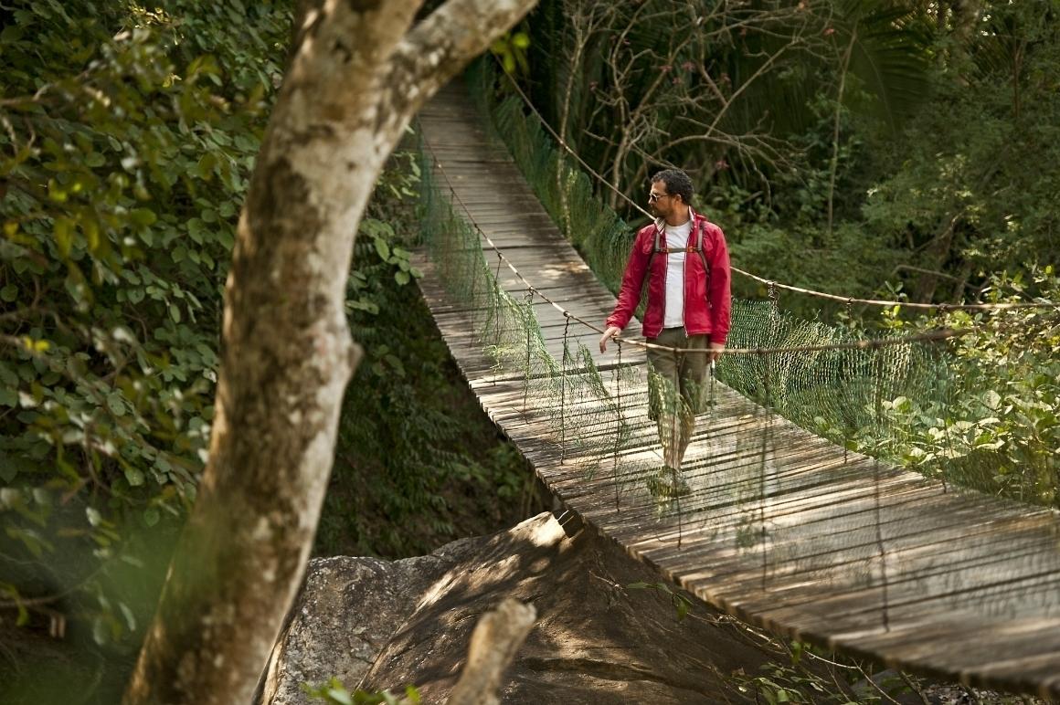 puente colgante del cuale