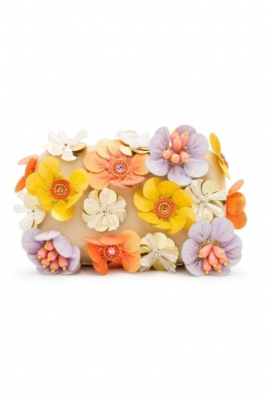 Clutchs de Coosy - clutch de flores