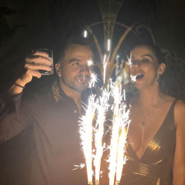 Luis Fonsi en su 40 cumpleaños