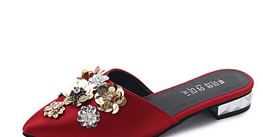 Mules online , el nuevo calzado de moda - mules con pedrería