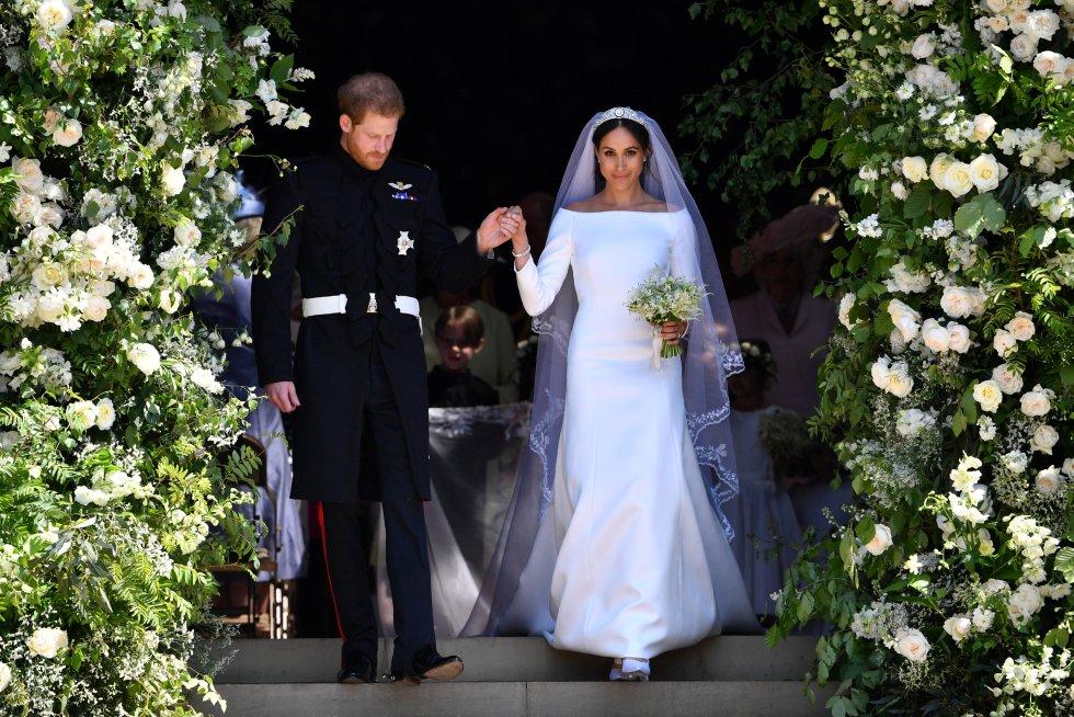 Las mejores fotografías de la boda real del príncipe Harry y Meghan Markle
