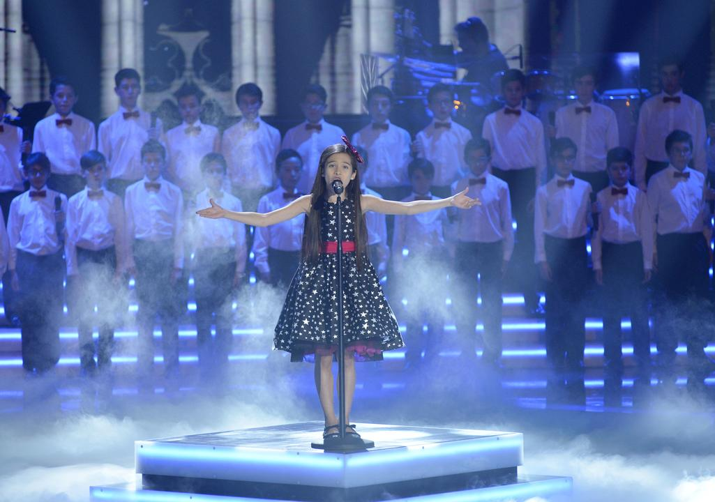 Melani García, la ganadora más joven de la Voz Kids