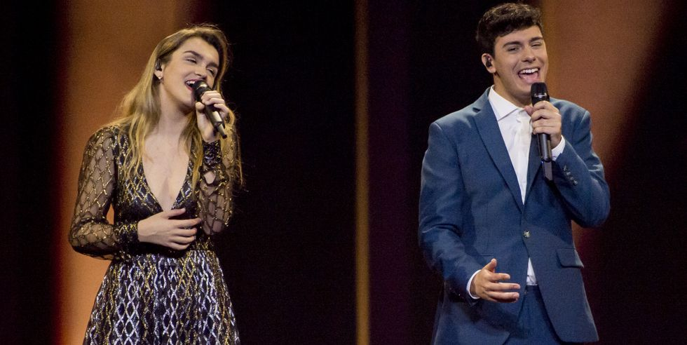 Los vestidos más impactantes de Eurovisión 2018