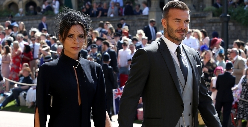 victoria beckham - Los estilismos más comentados de la boda real de meghan Markle y el príncipe Harry