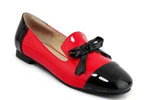 Bailarinas confort para tallas grandes - bailarinas bicolores