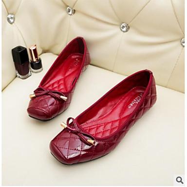 Bailarinas confort para tallas grandes - bailarinas rojas