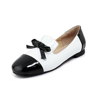 Bailarinas confort para tallas grandes - bailarinas negras y blancas