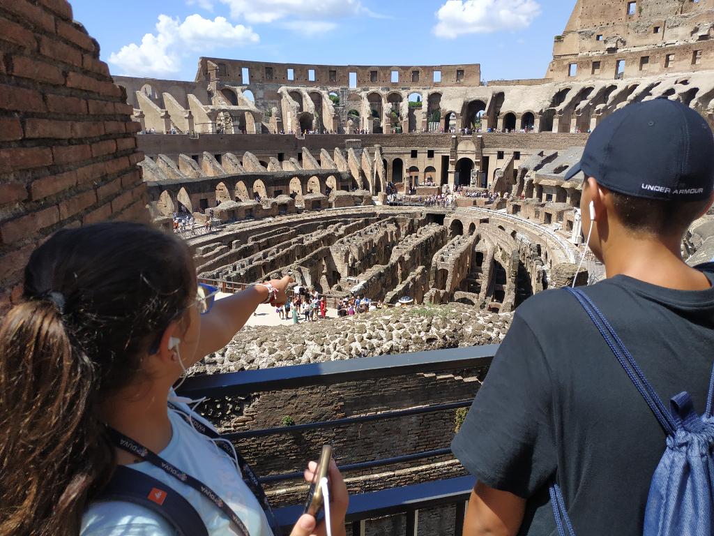 Foto Mazmorras Coliseo Roma