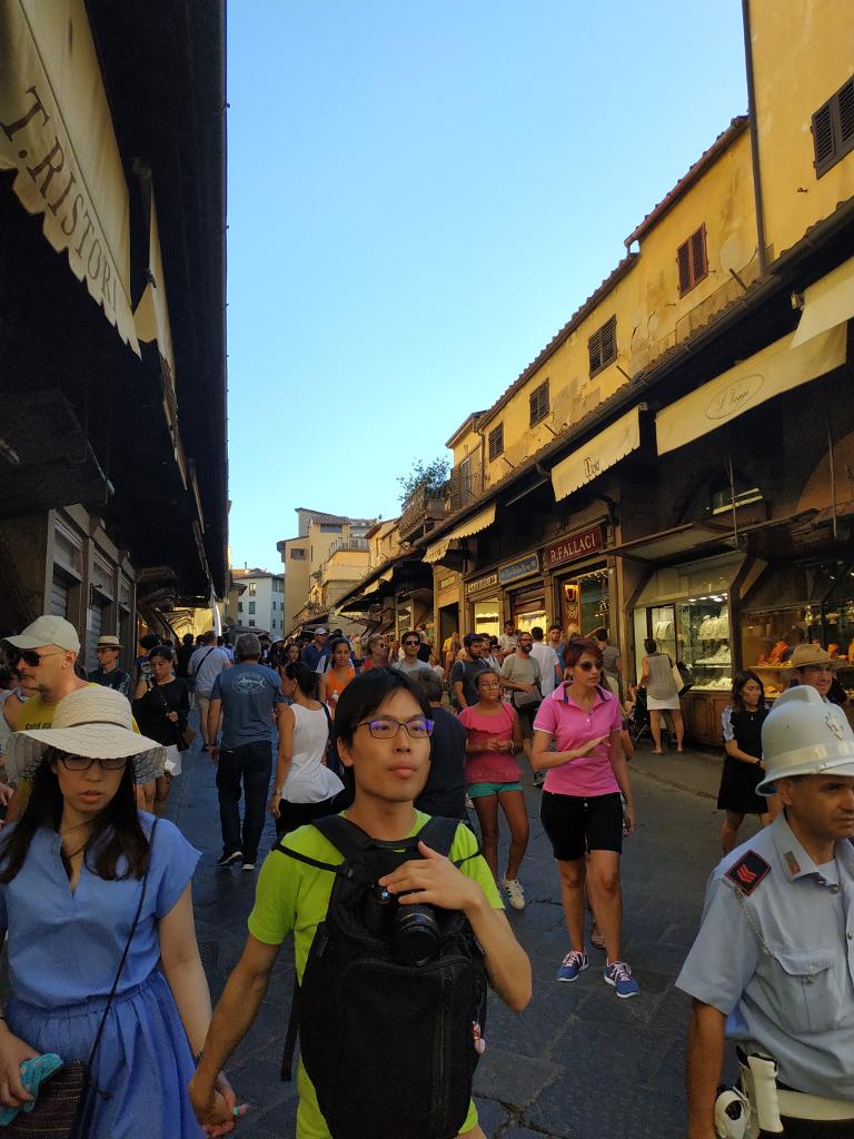 Tiendas Ponte Vecchio Florencia