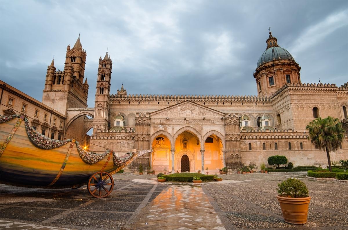 Catedral de Palermo - Sicilia Italia
