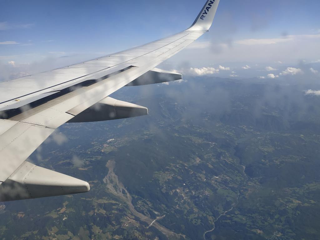 Ryanair viaje Italia