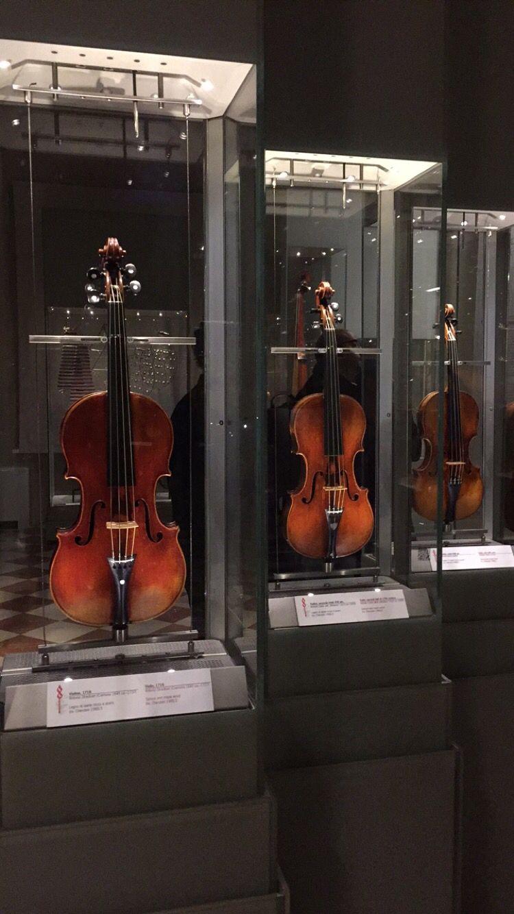 violines Museo de Música de la Academia