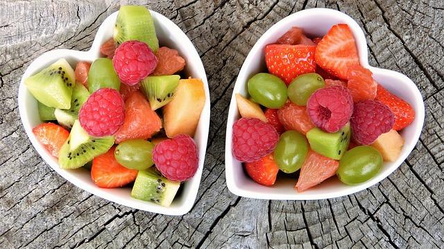 2 Bols de fruta para la dieta