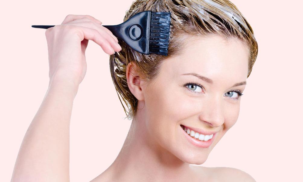 teñir raiz de cabello