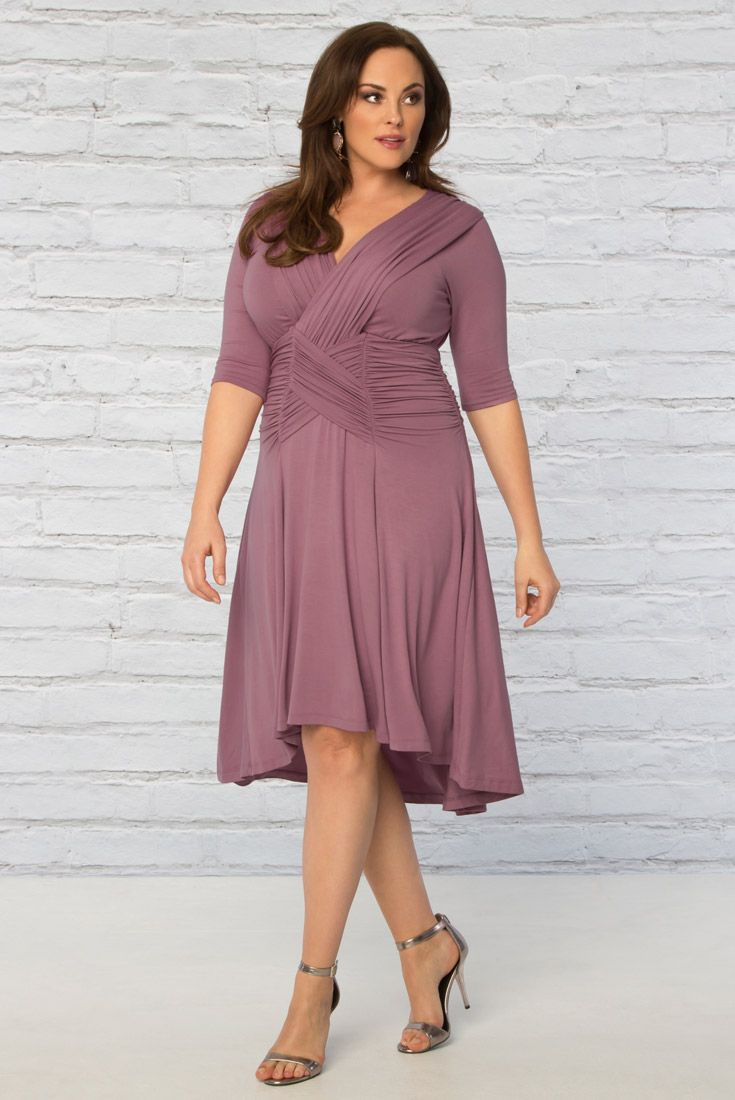 vestido elegante talla grande